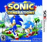 Case art for Sonic Generations - Nintendo 3DS