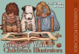 American Women Childrens Illustrators Postcard Book 30 Oversized Postcards 2009 9781595833600 Front Cover
