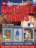 2010 Standard Catalog of Baseball Cards 19th 2009 9781440203602 Front Cover