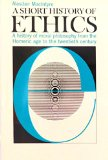 Short History of Ethics 1966 9780020872603 Front Cover