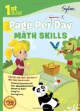 1st Grade Page per Day: Math Skills Math Skills # Numbers and Operations to 20, Place Values and Number Sense, Geometry and Shapes, Telling Time, and Counting Money 2012 9780307944603 Front Cover