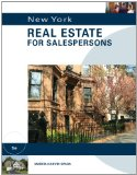 New York Real Estate for Salespersons 5th 2012 9781133111603 Front Cover