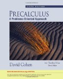 Precalculus A Problems-Oriented Approach 6th 2009 9781439044605 Front Cover