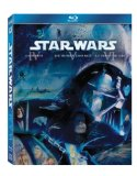 Case art for Star Wars: The Original Trilogy (Episode IV: A New Hope / Episode V: The Empire Strikes Back / Episode VI: Return of the Jedi) [Blu-ray]