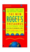 New Roget's Thesaurus 1990 9780425123614 Front Cover