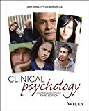Introduction to Clinical Psychology 3rd 2013 9781118624616 Front Cover