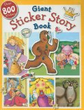 Busy Kids My Giant Sticker Story Book 2008 9781846108617 Front Cover
