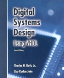 Digital Systems Design Using VHDL 2nd 2007 9780534384623 Front Cover