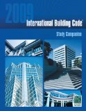 2009 International Building Code Study Companion 2009 9781580018623 Front Cover