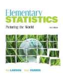 Elementary Statistics Picturing the World 5th 2011 9780321693624 Front Cover