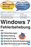 Windows 7 Fehlerbehebung 2013 9781492226628 Front Cover