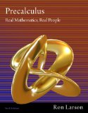 Precalculus Real Mathematics, Real People 6th 2011 9781111427634 Front Cover