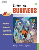 Intro to Business 6th 2005 Revised 9780538440639 Front Cover