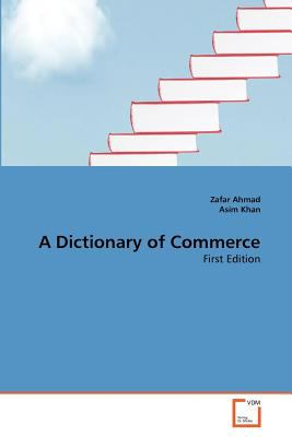 Dictionary of Commerce 2011 9783639359640 Front Cover