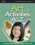 Art Activities A to Z 1st 2005 9781401871642 Front Cover