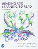 Reading and Learning to Read: 2018 9780134894645 Front Cover