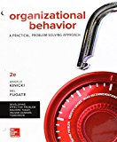 Organizational Behavior: A Practical, Problem-solving Approach 9781259732645 Front Cover