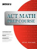 ACT Math Prep Course 2016 9781889057651 Front Cover