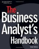 Business Analyst's Handbook 2008 9781598635652 Front Cover