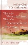 What to Do When You Don't Know What to Do - Discouragement and Depression 2009 9780849929656 Front Cover