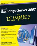 Microsoft� Exchange Server 2007 2008 9780470398661 Front Cover