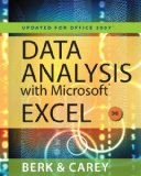 Data Analysis with Microsoft� Excel� 2007 3rd 2009 Revised  9780538494670 Front Cover