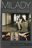 Milady Standard Barbering: Exam Review 2016 9781305100671 Front Cover