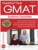 Manhattan GMAT Sentence Correction 5th 2012 Revised 9781935707677 Front Cover