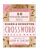 Simon and Schuster Crossword Puzzle Book 2002 9780743222679 Front Cover