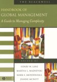 Blackwell Handbook of Global Management A Guide to Managing Complexity 2006 9781405152679 Front Cover
