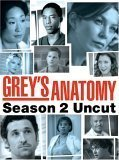 Case art for Grey's Anatomy: Season 2 Uncut