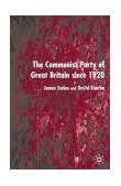 Communist Party of Great Britain since 1920 2002 9780333949689 Front Cover