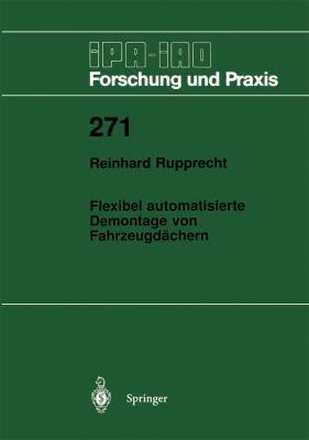 Flexibel Automatisierte Demontage Von Fahrzeugd�chern 1998 9783540649694 Front Cover