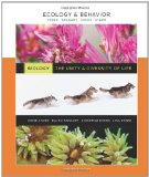 Volume 6 - Ecology and Behavior 13th 2012 9781111580698 Front Cover
