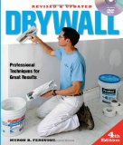 Drywall Professional Techniques for Great Results 4th 2012 9781600854699 Front Cover