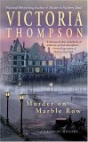 Murder on Marble Row 2005 9780425198704 Front Cover