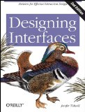 Designing Interfaces Patterns for Effective Interaction Design 2nd 2011 9781449379704 Front Cover