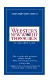 Webster's New World Thesaurus 3rd 2003 Revised  9780743470711 Front Cover