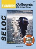 Evinrude Outboards 2002-2006 Repair Manual 2007 9780893300715 Front Cover