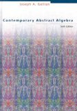Contemporary Abstract Algebra 6th 2004 9780618514717 Front Cover