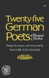 Twenty-Five German Poets A Bilingual Collection 1976 9780393007718 Front Cover