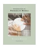 Introduction to Probability Models Operations Research 4th 2003 Revised  9780534405724 Front Cover
