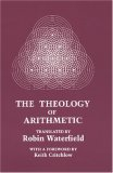 Theology of Arithmetic 1988 9780933999725 Front Cover
