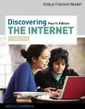 Discovering the Internet Complete 4th 2012 9781111820725 Front Cover