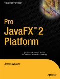 Pro JavaFX 2 A Definitive Guide to Rich Clients with Java Technology 2012 9781430268727 Front Cover