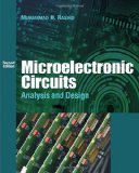 Microelectronic Circuits Analysis and Design 2nd 2010 9780495667728 Front Cover