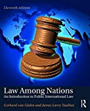 Law among Nations An Introduction to Public International Law 11th 2017 Revised  9781138691728 Front Cover