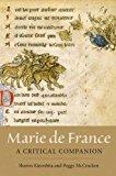 Marie de France: a Critical Companion 2014 9781843843733 Front Cover