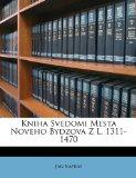 Kniha Svedomi Mesta Noveho Bydzova Z L 1311-1470 2010 9781148351735 Front Cover