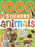 1000 Stickers - Animals 2010 9781848790735 Front Cover